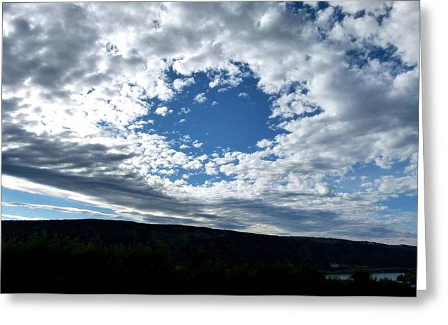 Intrigue Greeting Cards - Cloud Nine 16 Greeting Card by Will Borden