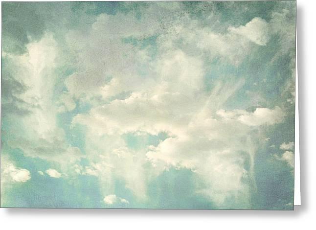 Cloud Series 1 of 6 Greeting Card by Brett Pfister
