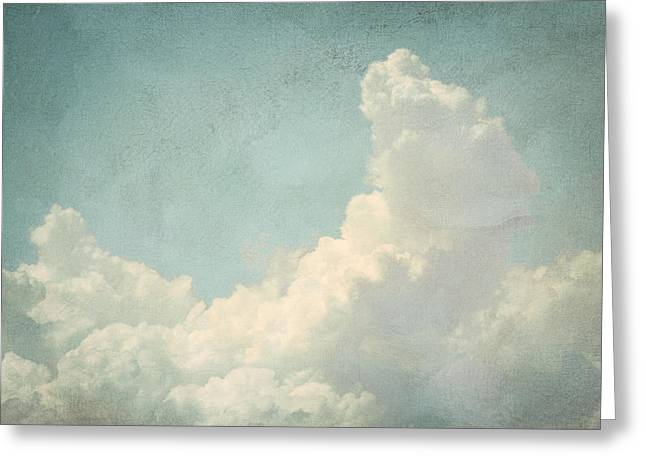 Cloud Series 4 Of 6 Greeting Card by Brett Pfister