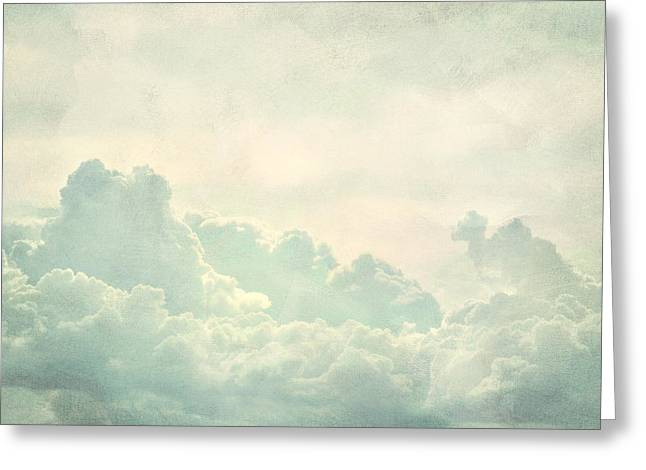 Cloud Series 5 of 6 Greeting Card by Brett Pfister