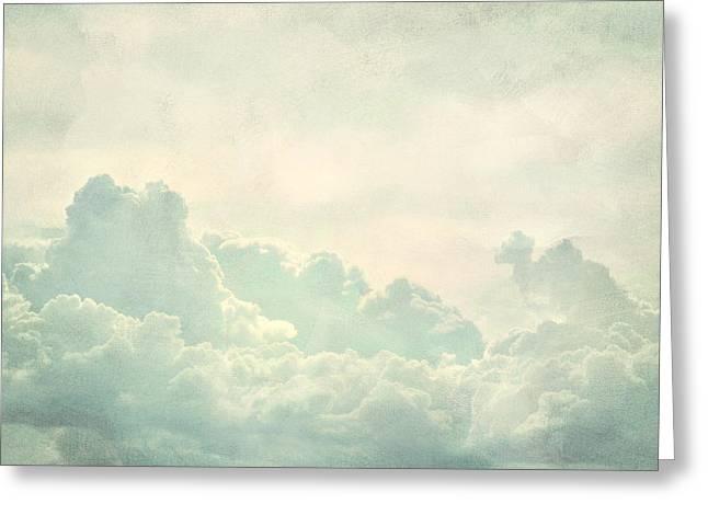 Cloud Series 5 of 6 Greeting Card by Brett Pfister