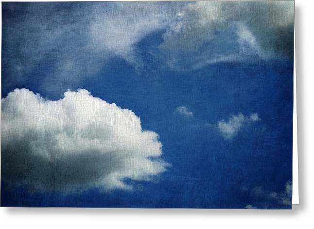 Daydreamer Greeting Cards - Cloud Shapes Greeting Card by Dan Sproul