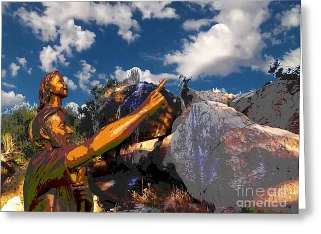 Sly Greeting Cards - Cloud Watchers Greeting Card by Glenn McCarthy Art and Photography