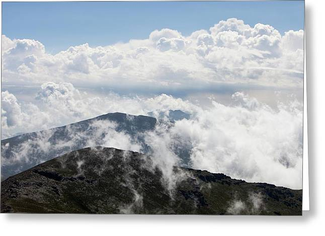 Clouds And Mist Greeting Card by Ashley Cooper