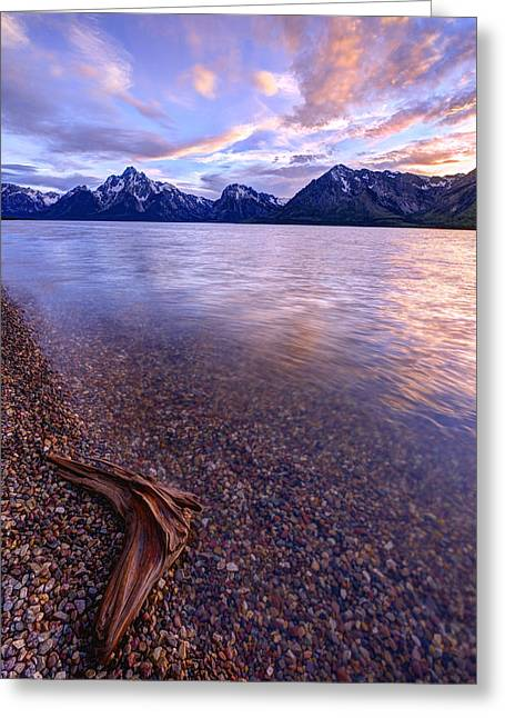 Tetons Greeting Cards - Clouds and Wind Greeting Card by Chad Dutson