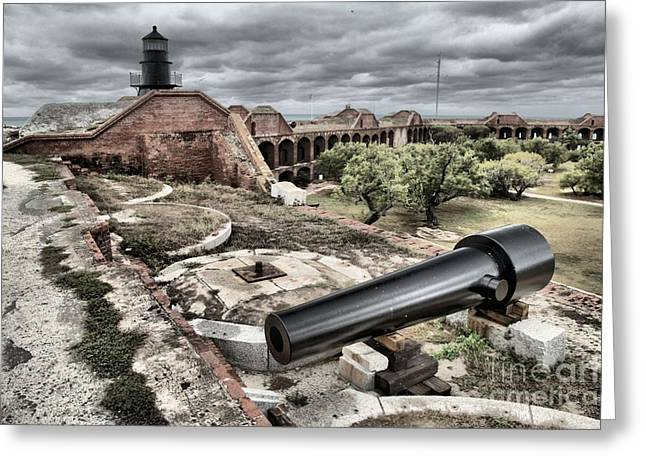 Dry Tortugas National Park Greeting Cards - Clouds In The Keys Greeting Card by Adam Jewell