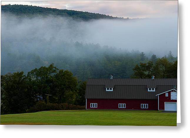 Massachussetts Greeting Cards - Clouds in the Sky Greeting Card by Kathleen Odenthal