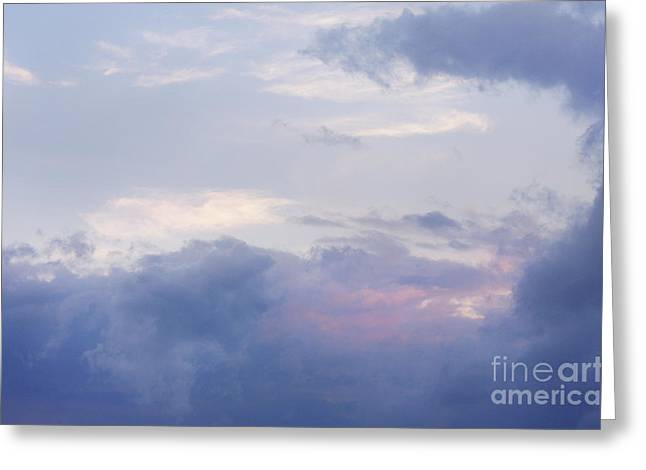 Jonathan Welch Greeting Cards - Clouds Greeting Card by Jonathan Welch