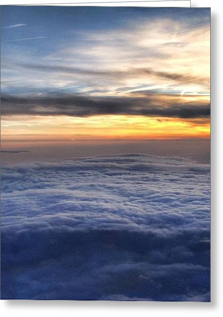 Michael Fitzpatrick Greeting Cards - Clouds Greeting Card by Michael Fitzpatrick