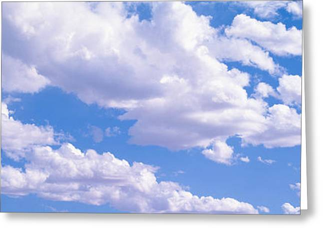 Utah Weather Greeting Cards - Clouds Moab Ut Usa Greeting Card by Panoramic Images