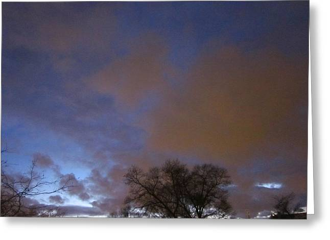 Guy Ricketts Photography Greeting Cards - Clouds of Cotton Candy Greeting Card by Guy Ricketts