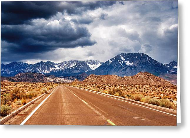 Lone Pine Greeting Cards - Clouds of Doubt Greeting Card by Aron Kearney Fine Art Photography
