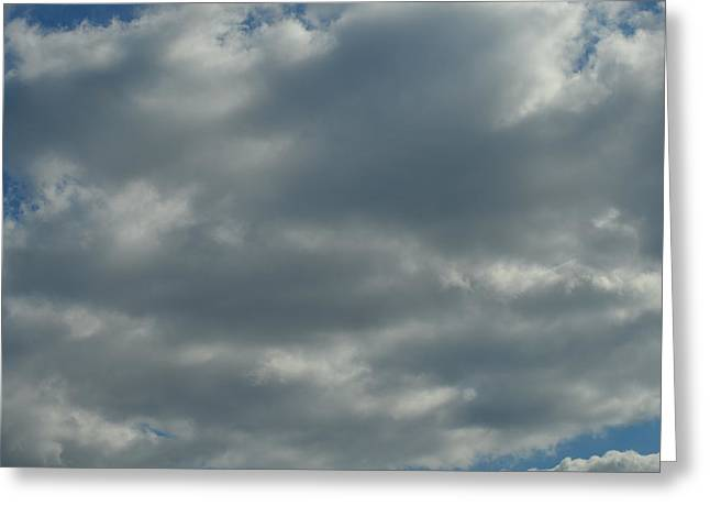 Leaden Sky Greeting Cards - Clouds of Gray Greeting Card by James Potts