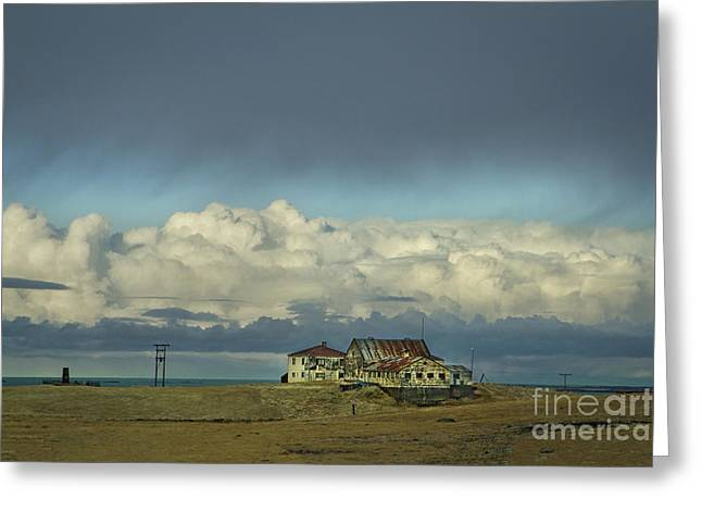 Clouds Of My Mind Greeting Card by Evelina Kremsdorf