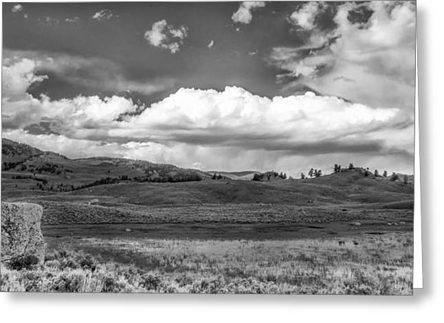 Clouds on the Plain Greeting Card by Jon Glaser