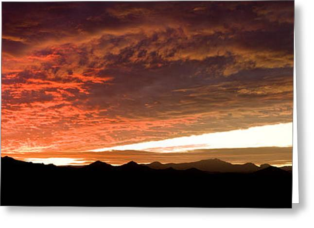 Atlas Greeting Cards - Clouds Over Mountains, Atlas Mountains Greeting Card by Panoramic Images