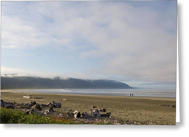 Crescent City Greeting Cards - Clouds Over The Ocean, California, Usa Greeting Card by Panoramic Images