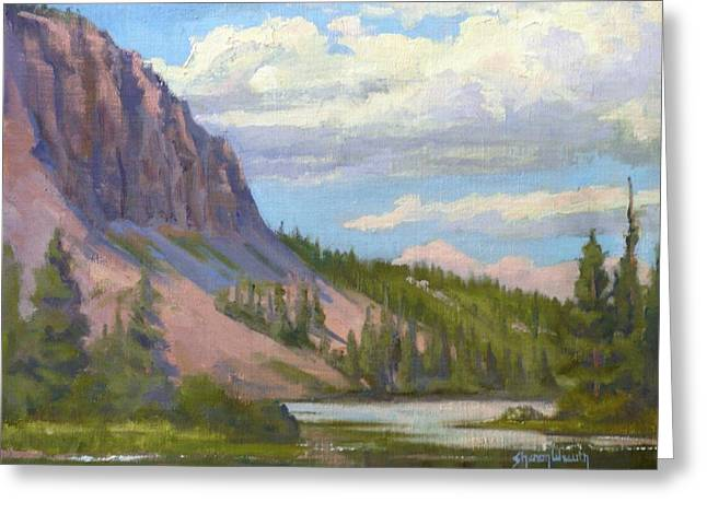 Edgar Payne Greeting Cards - Clouds Over the Twin Lakes Greeting Card by Sharon Weaver