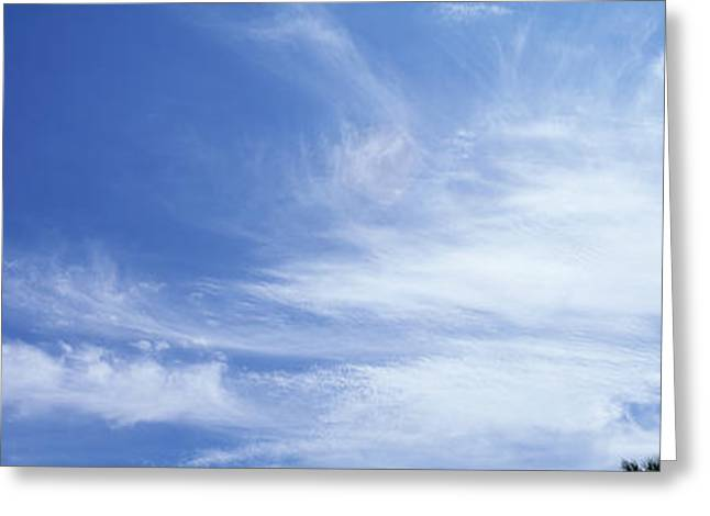 Playful Greeting Cards - Clouds Phoenix Az Usa Greeting Card by Panoramic Images