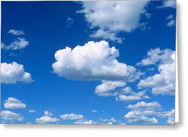 Ut Greeting Cards - Clouds Ut Greeting Card by Panoramic Images