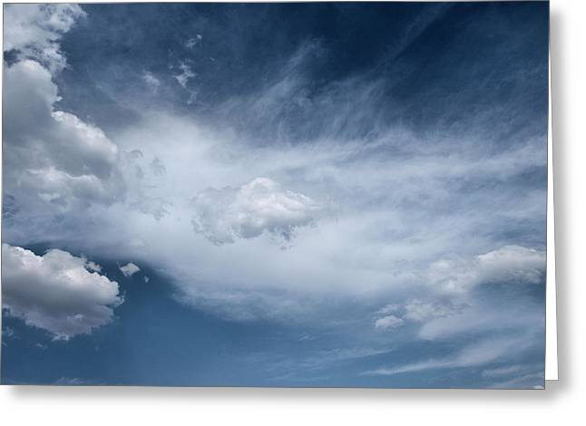 Tom Druin Greeting Cards - Clouds...altitude Greeting Card by Tom Druin