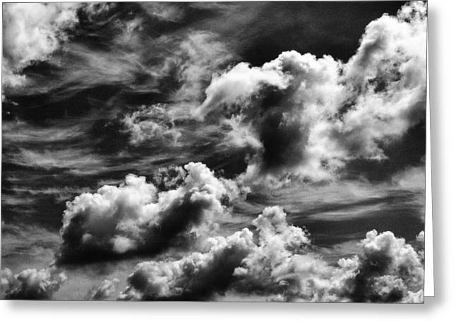 Tom Druin Greeting Cards - Cloudscape 3 Greeting Card by Tom Druin