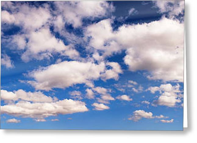 Best Sellers -  - Overcast Day Greeting Cards - Cloudscape Sun Rays Greeting Card by Aleksey Tugolukov