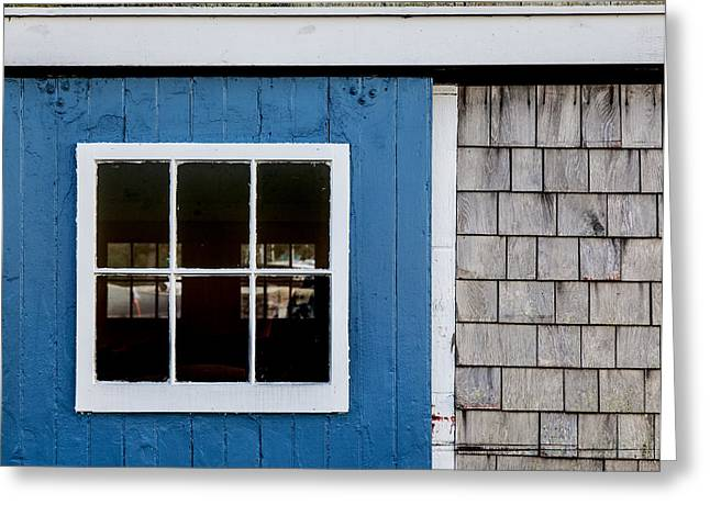 Old Barns Greeting Cards - Clubhouse Door 1 Greeting Card by Charles Harden