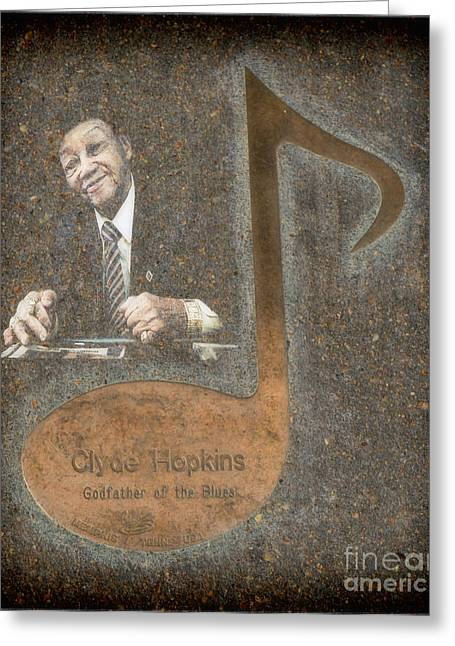 Tennessee Landmark Greeting Cards - Clyde Hopkins Note Greeting Card by Donna Van Vlack
