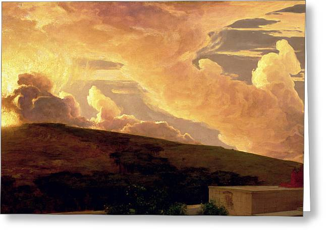 Dawn Paintings Greeting Cards - Clytie, C.1890-92 Greeting Card by Frederic Leighton