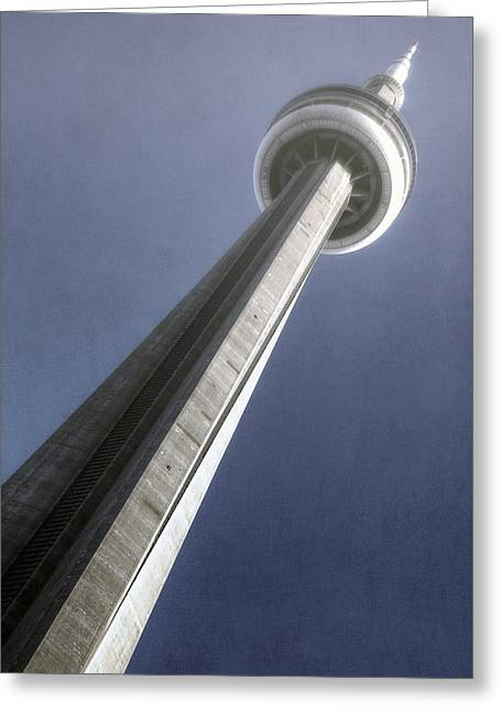 Television Tower Greeting Cards - CN tower Greeting Card by Joana Kruse