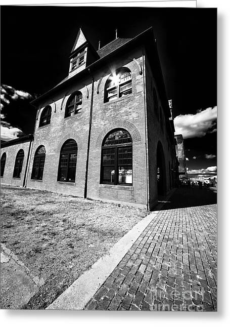 New Jersey History Greeting Cards - CNJ Terminal Greeting Card by John Rizzuto