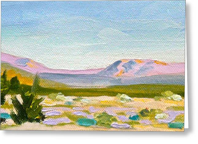 Hills Sculptures Greeting Cards - Coachella Valley Greeting Card by Dan Redmon