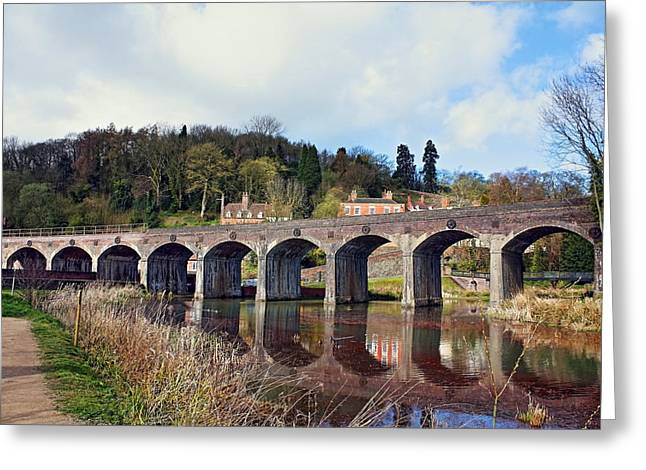 Coalbrookdale Greeting Cards - Coalbrookdale Viaduct Greeting Card by Paul Williams
