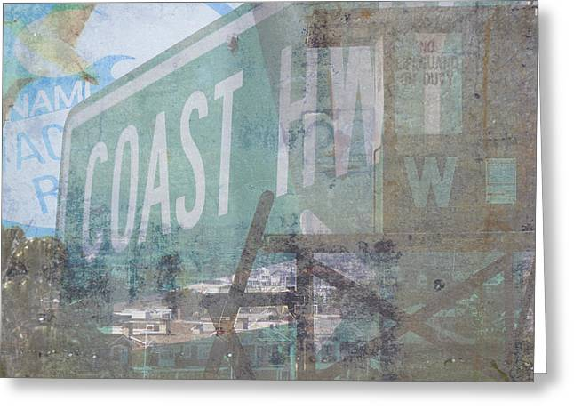 Pch Greeting Cards - Coast Collage Greeting Card by Kyle Morris