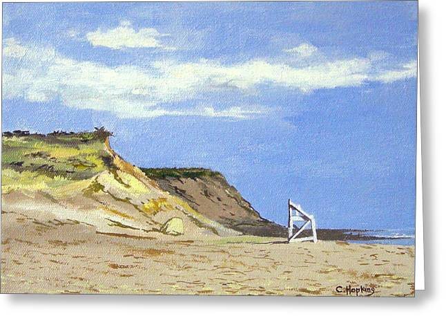 Recently Sold -  - Chatham Greeting Cards - Coast Guard Beach Eastham Cape Cod Massachusetts Greeting Card by Christine Hopkins