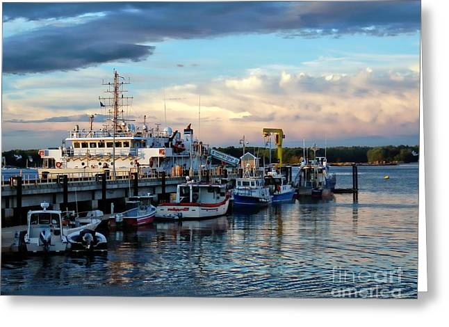 Masts Greeting Cards - Coast Guard Station Greeting Card by Marcia Lee Jones