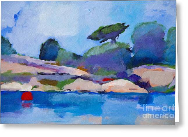 Bestseller Greeting Cards - Coast Impression I Greeting Card by Lutz Baar