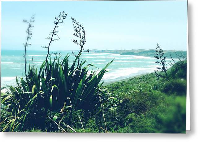 Beach Photograph Greeting Cards - Coast Greeting Card by Les Cunliffe