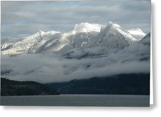 Pacific Ocean Prints Greeting Cards - Coastal BC Greeting Card by Brian Chase