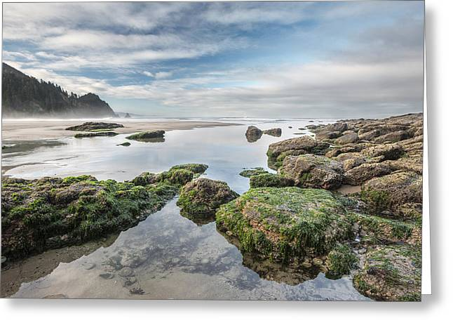Oregon Photos Greeting Cards - Coastal Colors Greeting Card by Jon Glaser