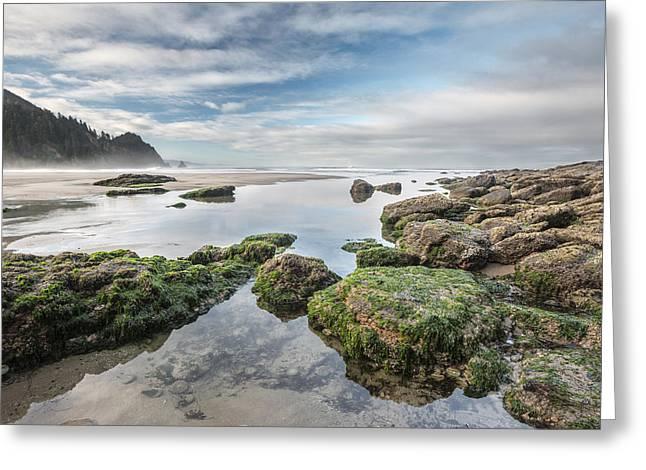 Coastal Colors Greeting Card by Jon Glaser