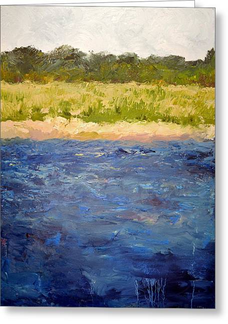 Michelle Greeting Cards - Coastal Dunes Greeting Card by Michelle Calkins
