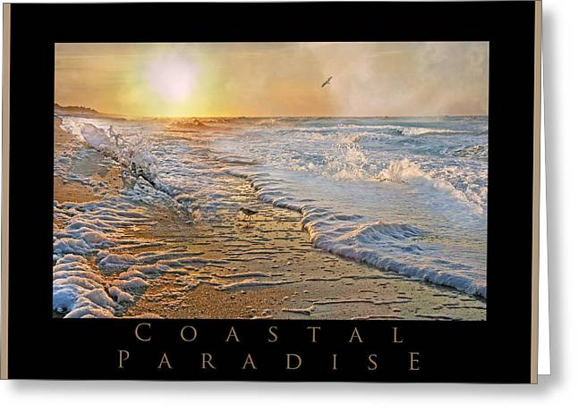 Vacant Greeting Cards - Coastal Paradise Greeting Card by Betsy C  Knapp