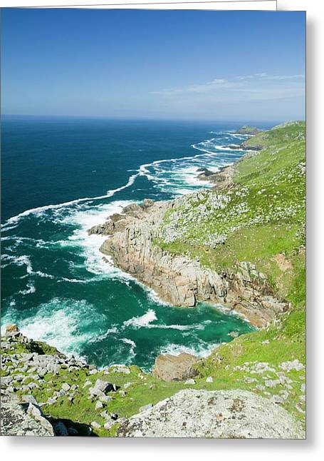 Coastal Scenery Near Zennor Greeting Card by Ashley Cooper