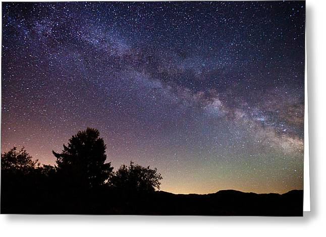 Milky Greeting Cards - Coastal Skies Greeting Card by Darren  White