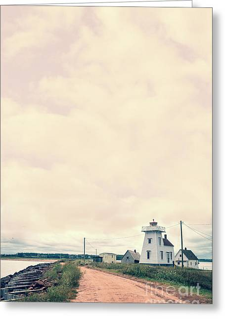 Princes Greeting Cards - Coastal Town Greeting Card by Edward Fielding