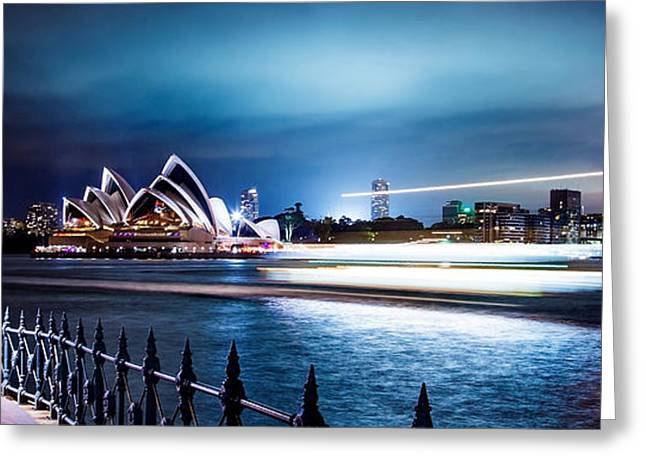 Exposure Greeting Cards - Coasting On The Harbour Greeting Card by Az Jackson