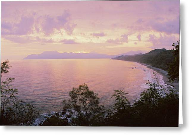Flores Greeting Cards - Coastline, Flores Island, Indonesia Greeting Card by Panoramic Images