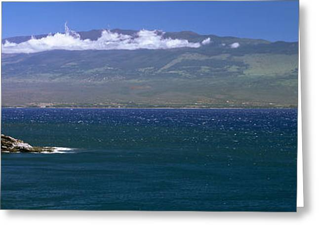 Ocean Photography Greeting Cards - Coastline, Oahu, Hawaii, Usa Greeting Card by Panoramic Images